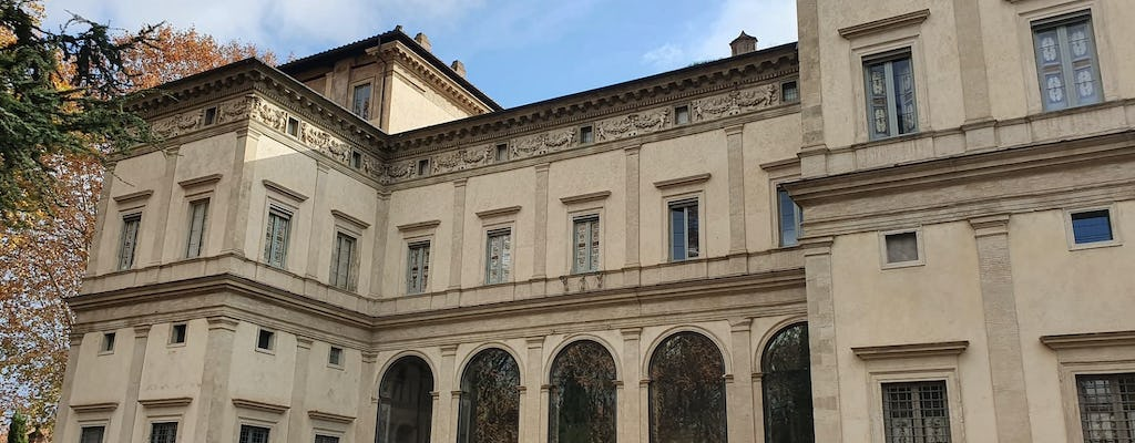Walking tour in the footsteps of Raffaello