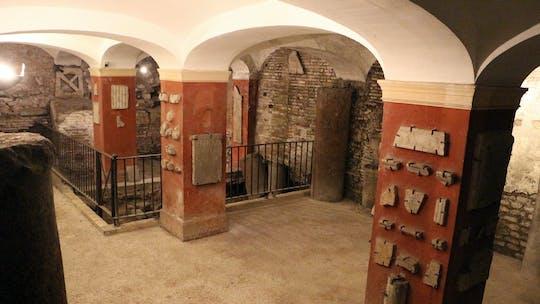 Tour a piedi dei sotterranei di Trastevere