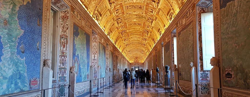Excursão combinada Vaticano e Coliseu
