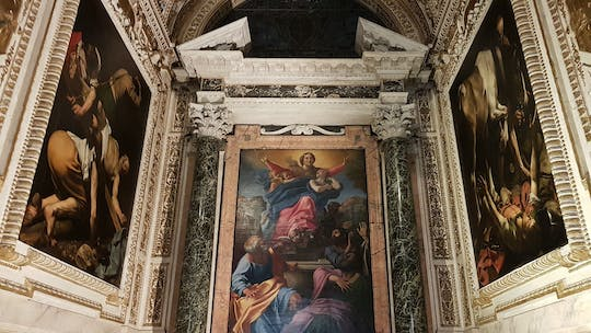 Walking tour in the footsteps of Caravaggio