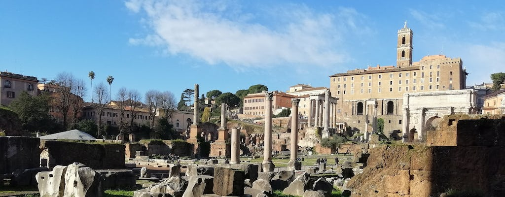 Walking tour in the footsteps of Julius Caesar