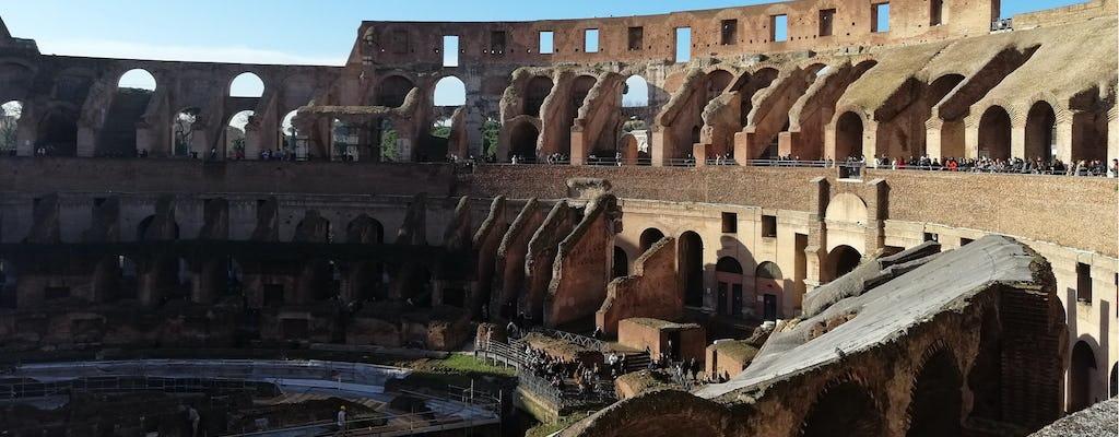 Recorrido privado sin colas por el Coliseo