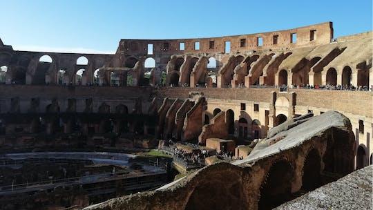 Excursão privada sem fila ao Coliseu
