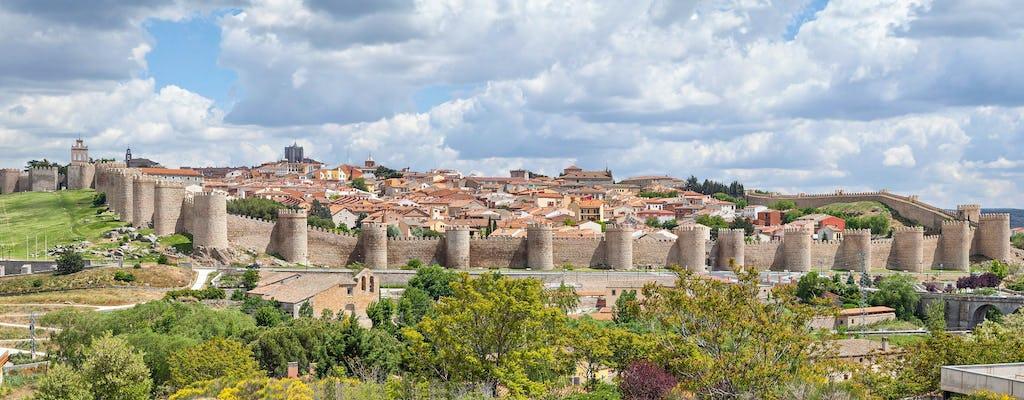 Tour a Ávila de Salamanca com entrega em Madri