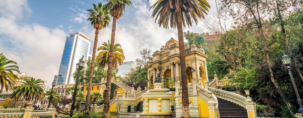 Visita guiada de Santiago y visita a la bodega Concha y Toro