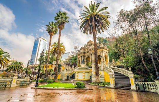 Visita guiada a Santiago e visita à vinícola Concha y Toro