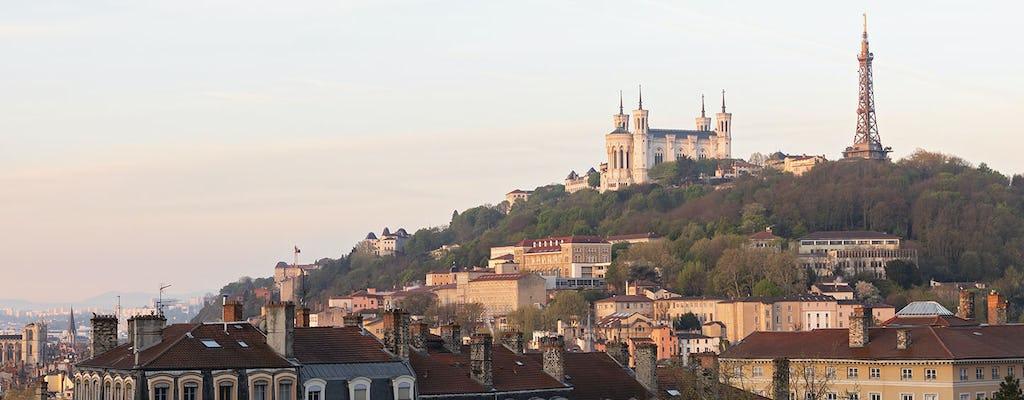 Wycieczka z przewodnikiem po głównych dzielnicach Lyonu
