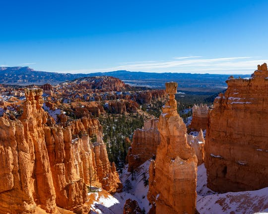 Wycieczka do Bryce Canyon i Zion National Parks z Las Vegas
