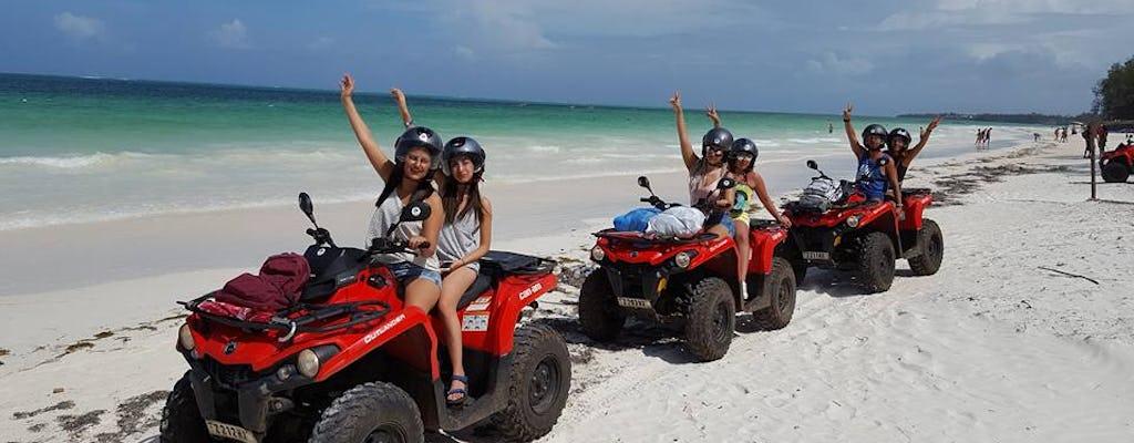 Zanzibar quad bike tour