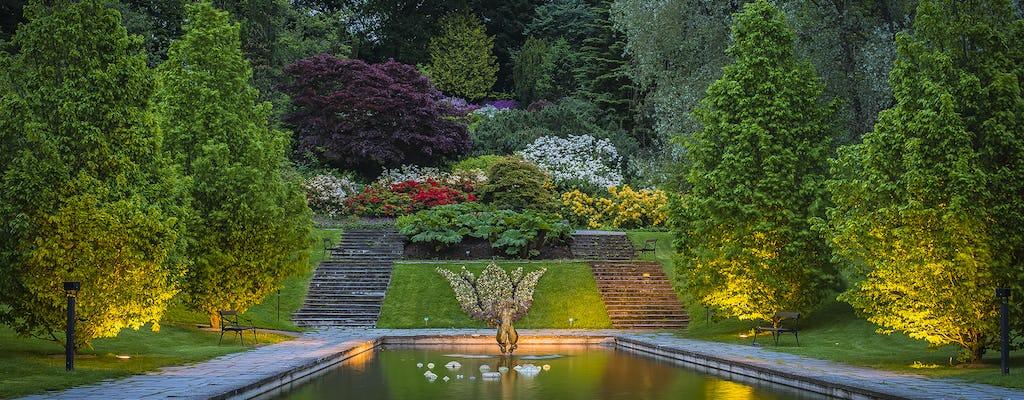 Ogród botaniczny i szklarnie w Göteborgu