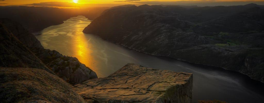Guided sunrise hike to Pulpit Rock Preikestolen