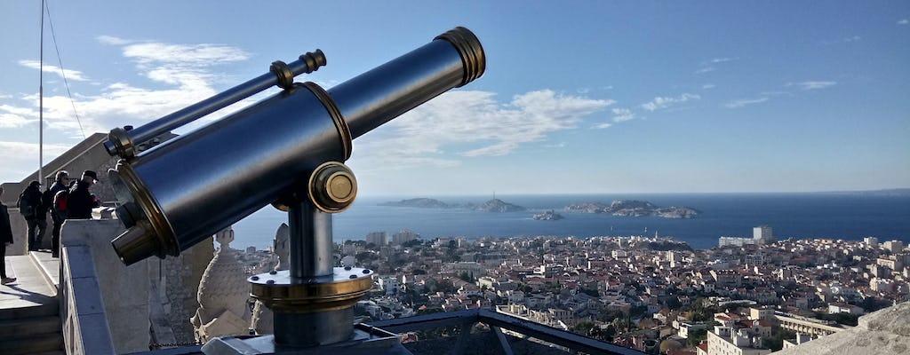 Panoramic walking tour of Marseille
