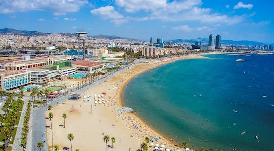 Barcelona and the sea guided tour