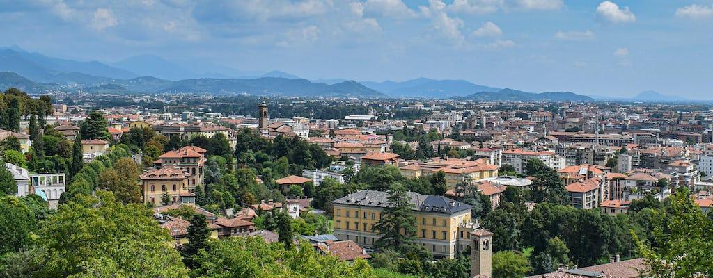 Bergamo private lower town walking tour