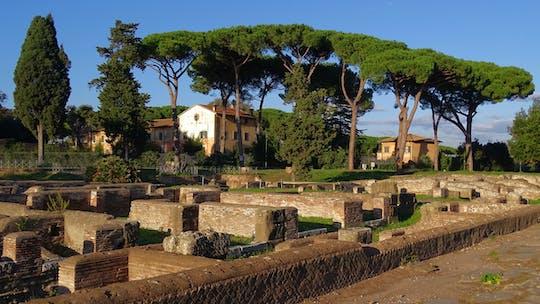 Visita guiada al parque arqueológico de Ostia Antica.