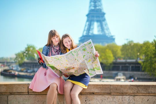 Private orientation tour of Paris