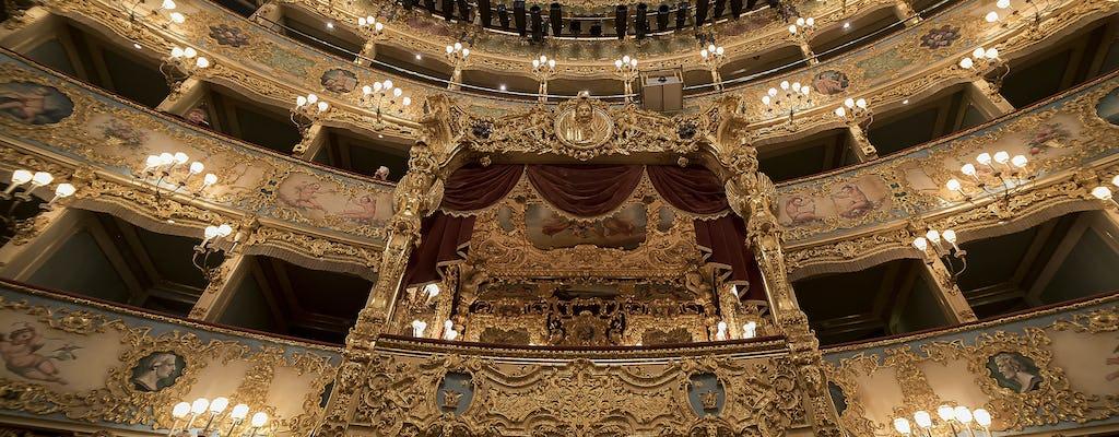 La Fenice theater private tour in Venice