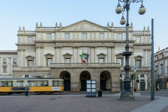 Teatro alla Scala private tour in Milan