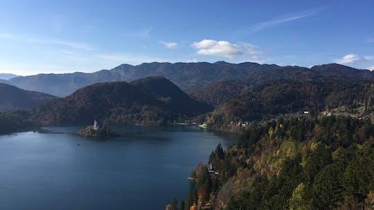 Tour privato a Lubiana e sul lago di Bled da Zagabria