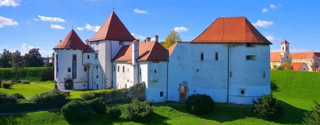 Небольшая группа тур Вараждин-город в стиле барокко и замок Тракошчан из Загреба