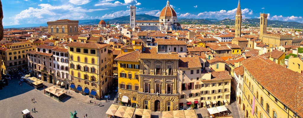 Panoramic bike tour of Florence with gelato tasting