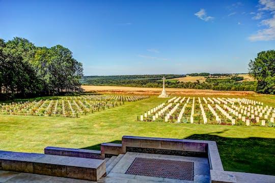 Tour di un giorno dei campi di battaglia della Somme da Parigi
