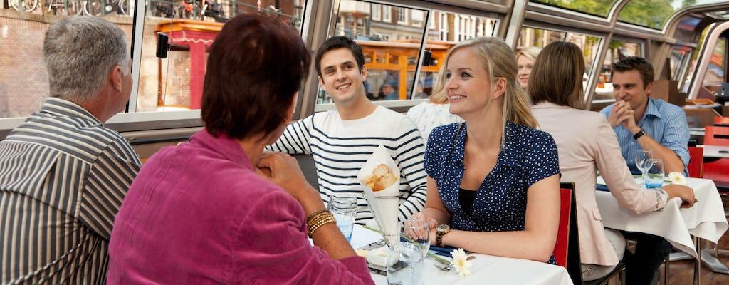 Круиз в Амстердаме с голландским вином и сыром