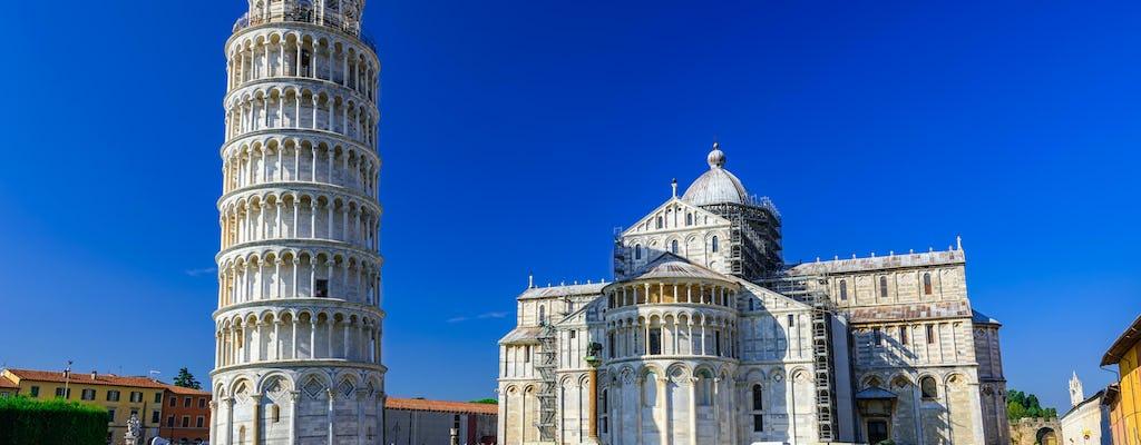 Tour guidato del meglio di Pisa con biglietti opzionali per la Torre pendente