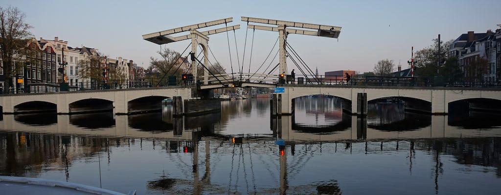 Poranna wycieczka łodzią po kanałach Amsterdamu