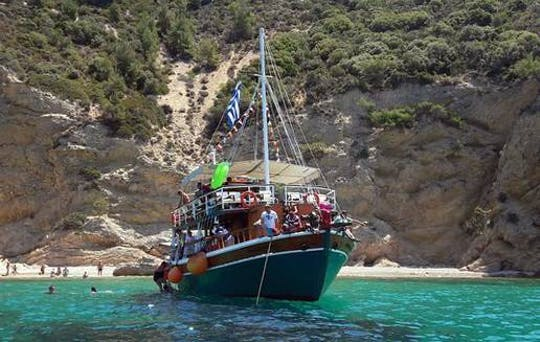 Zuid-Thassos Cruise