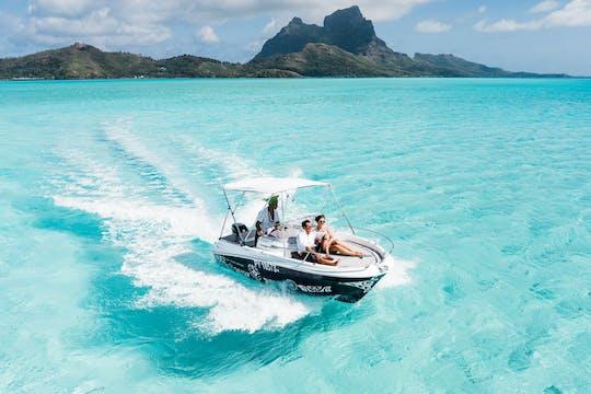 Aluguel de barco privado Cap Bora Bora Bora Bora