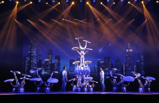 Акробатическое шоу в Шанхай с пересадкой