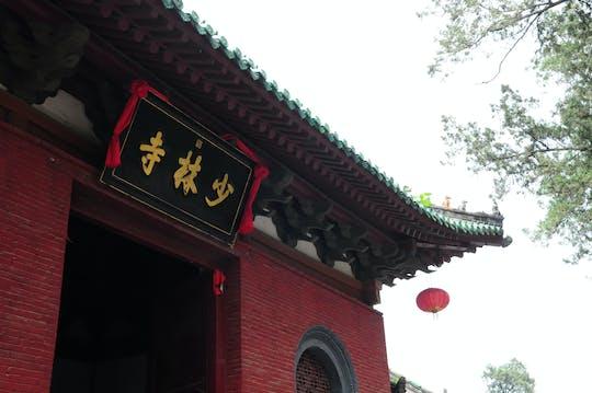 Hele dag Shaolin-tempel en Longmen-grotten-tour