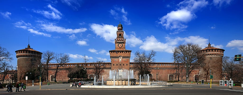 Private tour of Milan with Sforza Castle skip-the-line tickets