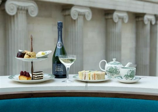 Prosecco Afternoon Tea at The British Museum