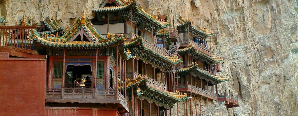 Visite d'une journée complète du temple suspendu et des grottes de Yungang