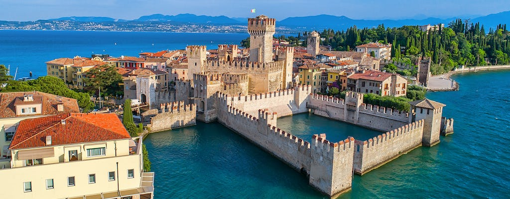 Lake Garda day trip with boat tour and wine tasting