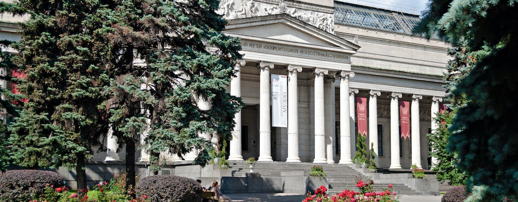 Private skip-the-line tour to Pushkin Arts Museum in Moscow