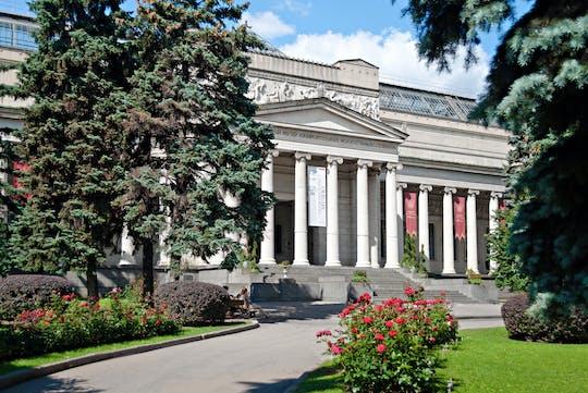 Excursão sem fila para o Museu de Artes Pushkin em Moscou