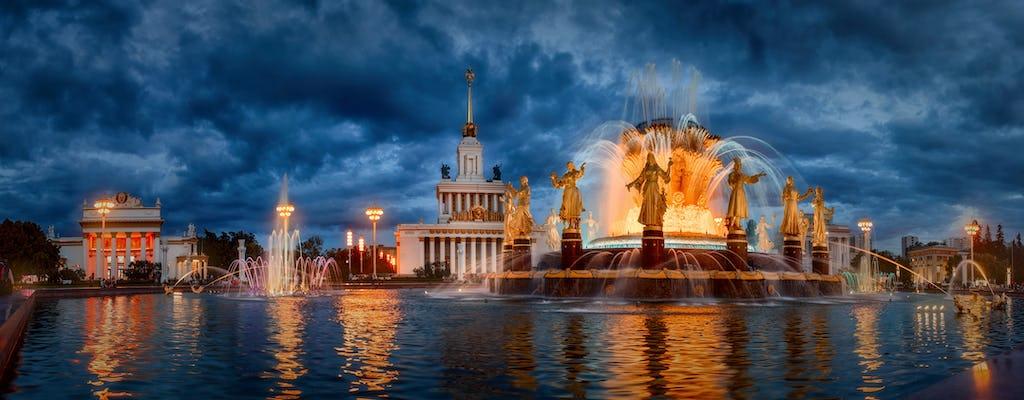 Excursión privada a Moscú soviética con recogida en el museo VDNKh y de Cosmonáutica