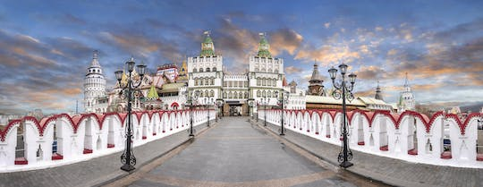 Izmailovo Kremlin and flea market private tour with pick-up in Moscow