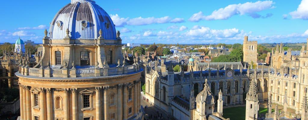 Rondleiding door universiteiten in Oxford en Cambridge