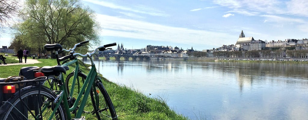 Loire Valley bike tour with visit of the RoyalChateauofBlois