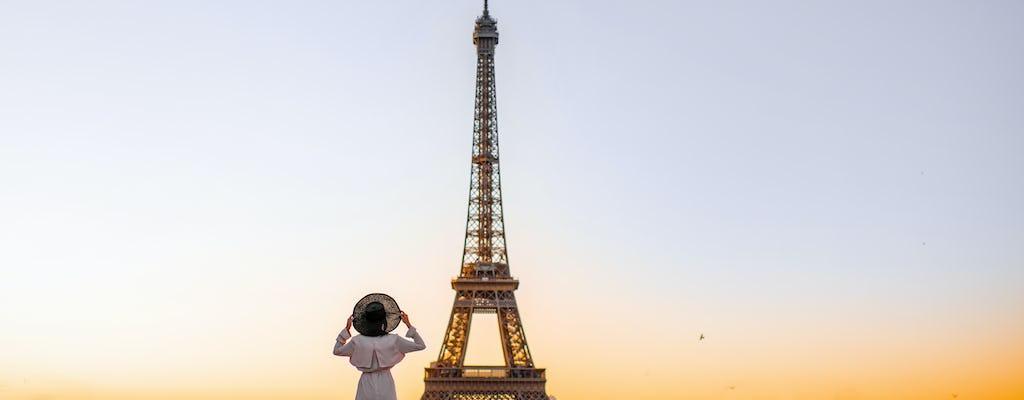 Servizio fotografico privato nel quartiere della Torre Eiffel