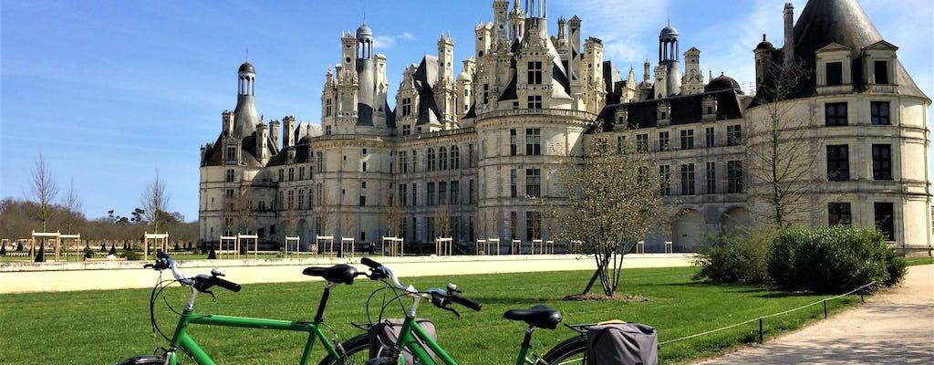 Loire Valley bike tour with Chambord Castle visit