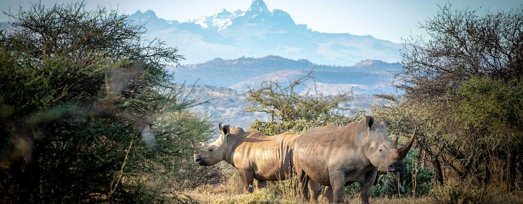 5-day Tour of Mount Kenya and Masai Mara Safari