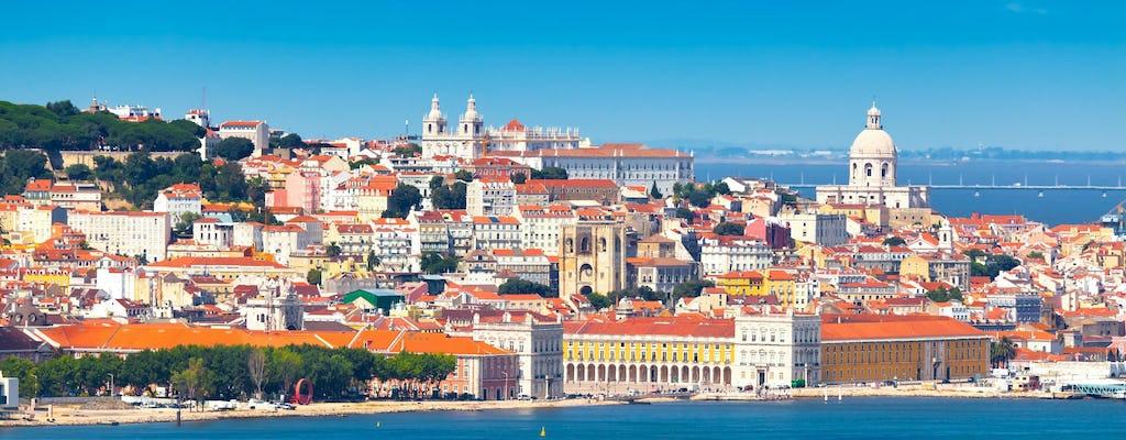 Tour privato di mezza giornata della città di Lisbona