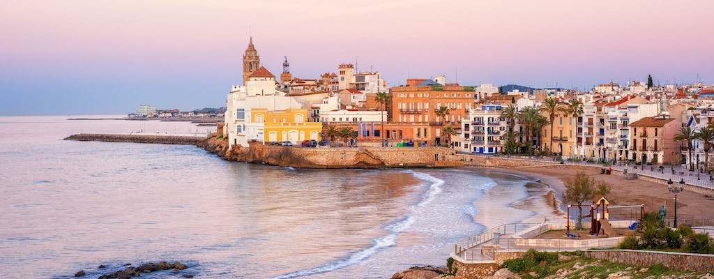 Full-day tour to Sitges and Girona from Barcelona