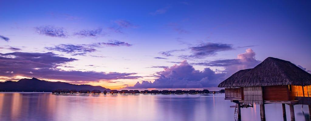 Cruzeiro privado ao pôr do sol em Bora Bora