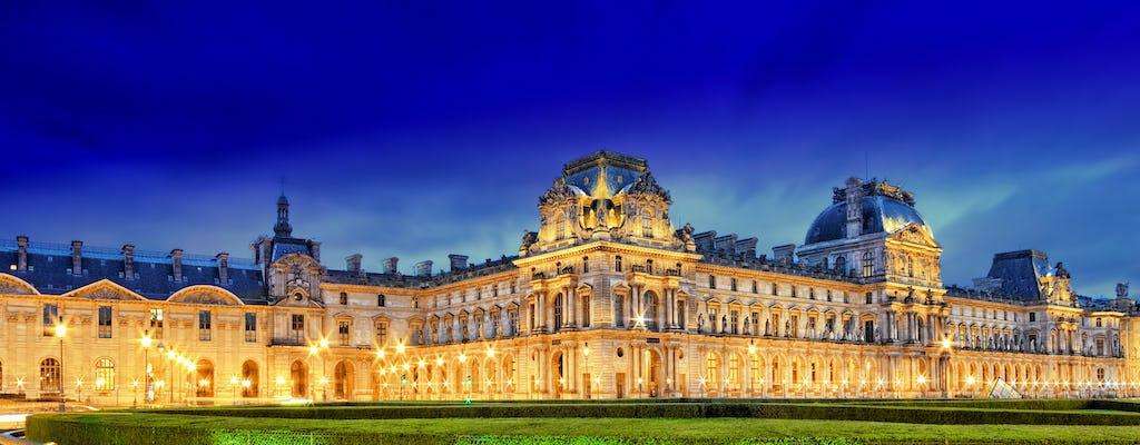 Privatfahrt zu den beleuchteten Sehenswürdigkeiten von Paris